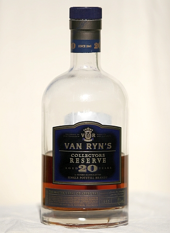 Van Ryns Collectors Reserve 20 Year Old Brandy