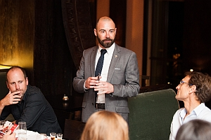 Bisquit Cognac Nobu Pairing Dinner_Loic Rakotomalala introducing the brand resize