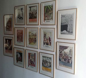 Art gallery of Hennessey posters through time